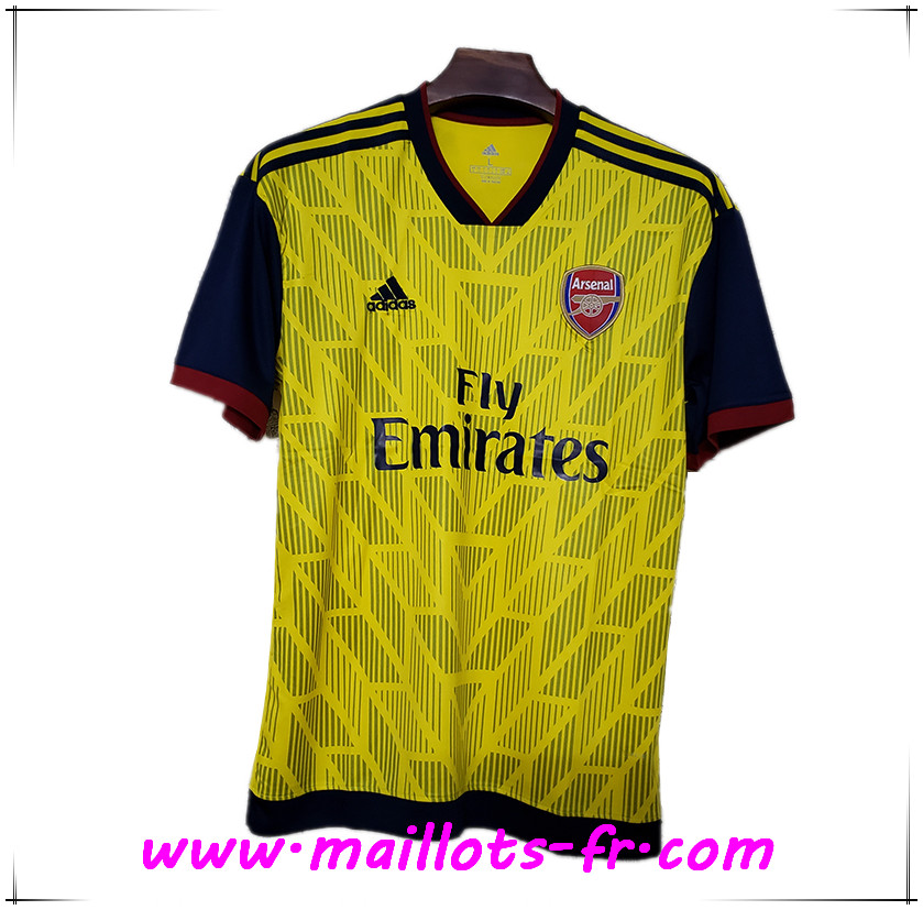 Maillot de Foot Arsenal Version Concept jaune 2019/2020