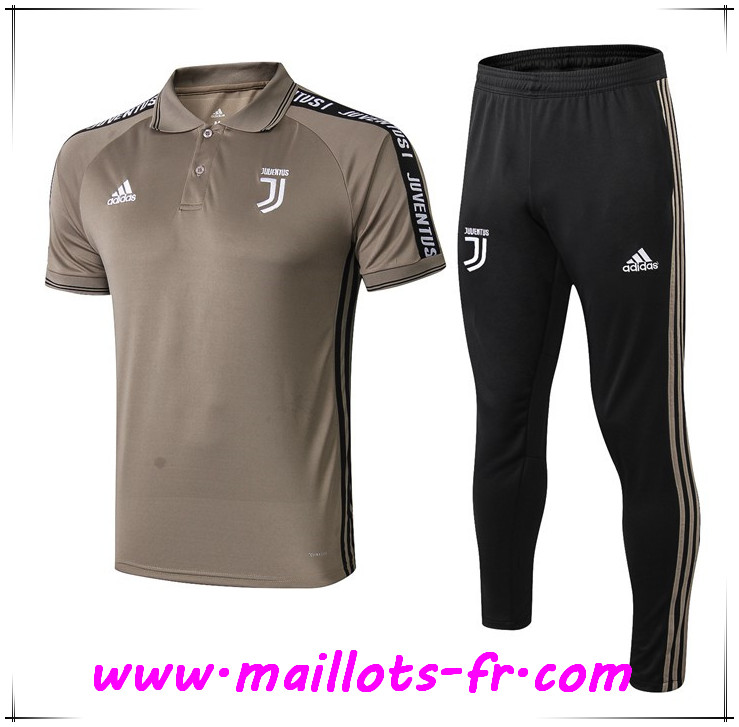 Ensemble Polo Juventus + Pantalon Jaune 2019 2020