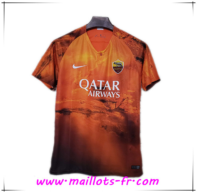 Maillot de Foot AS Roma Édition Speciale Jaune 2019/2020