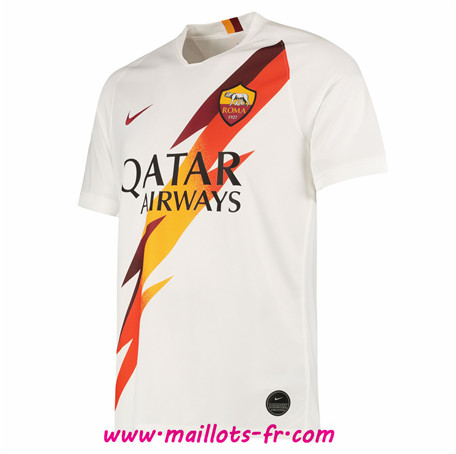 Maillot de Foot AS Roma Blanc Version Fuite 2019 2020