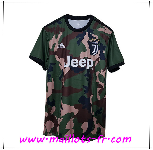 Maillot de Foot Juventus Camouflage 2019 2020