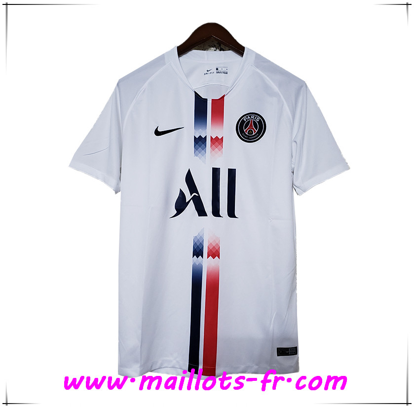 Maillot de Foot PSG ALL Concept Blanc 2019/2020