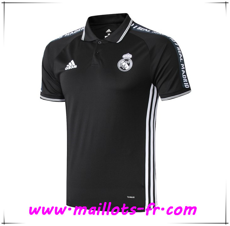 Polo Foot Real Madrid Noir 2019 2020