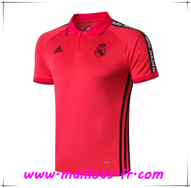 Polo Foot Real Madrid Rouge 2019 2020