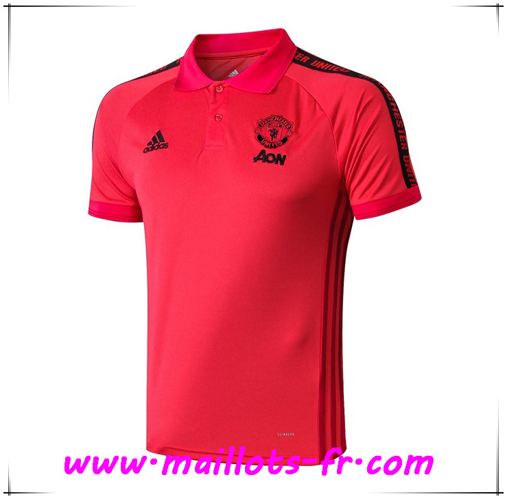 Polo Foot Manchester United Rouge 2019 2020