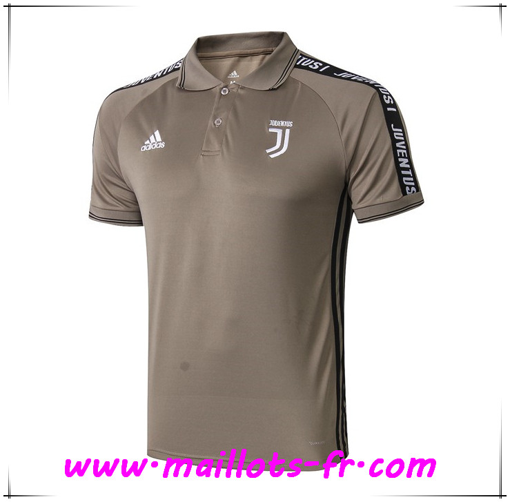 Polo Foot Juventus Jaune 2019 2020