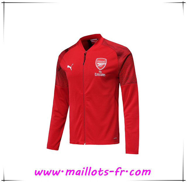 Veste Foot Arsenal Rouge 2019/2020