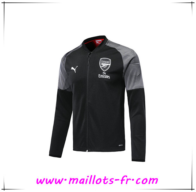 Veste Foot Arsenal Noir 2019/2020