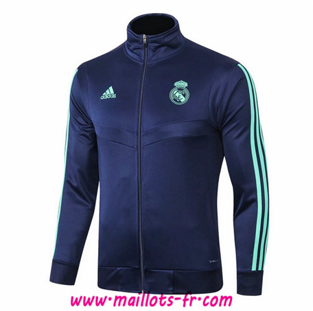 Veste Foot Real Madrid Bleu Marine 2019/2020