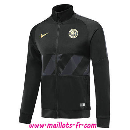 Veste Foot Inter Milan Noir 2019/2020