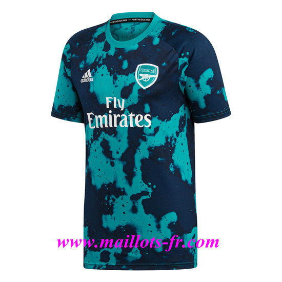 Maillot foot Arsenal Training Pre-Match 2019/2020 Pas Cher