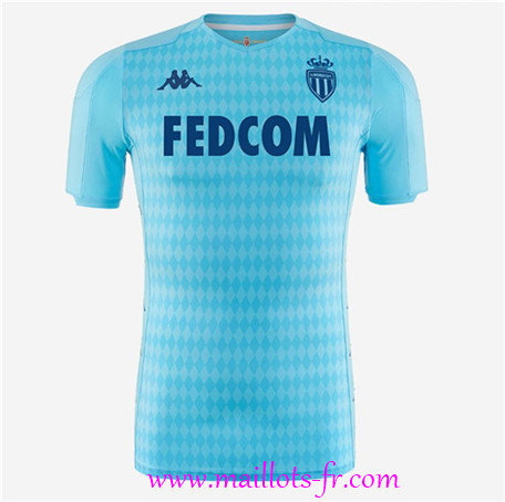 Ligue 1 Nouveau Maillot de foot AS Monaco Third Vert 2019/2020