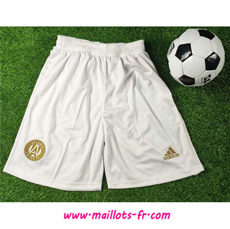 Officiel Nouveau Maillot foot Short Atlanta Blanc 2019/2020 Homme