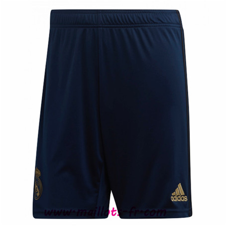 Thailande Nouveau Maillot foot Short Real Madrid away 2019/2020 Homme