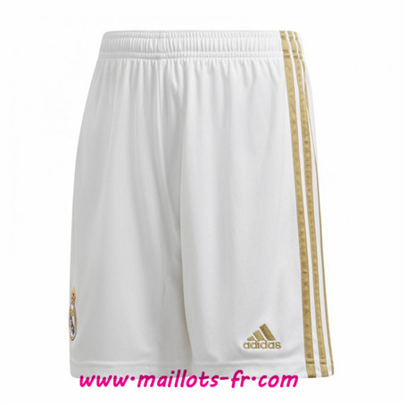 Officiel Nouveau Maillot foot Short Real Madrid home 2019/2020 Homme