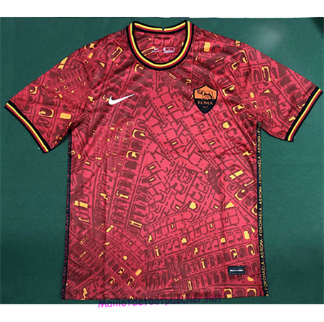 Maillotdefootpascher - Maillot de foot AS AS Roma training 2020 2021