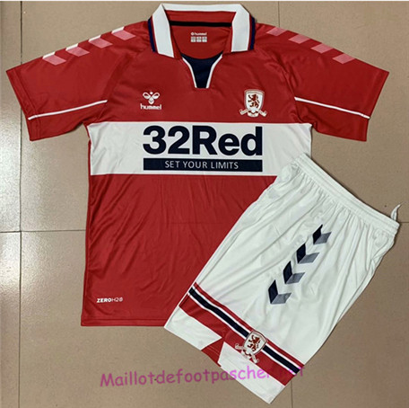 Maillotdefootpascher - Maillot De Middlesbrough Enfant Domicile 2020 2021