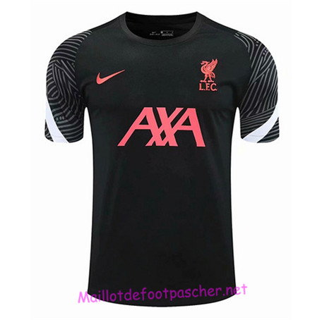 Maillotdefootpascher - Maillot de foot Liverpool training Dri-Fit Noir