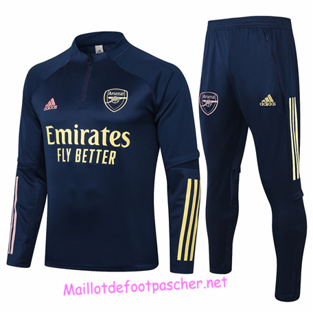 Maillotdefootpascher - Survetement de Enfant Arsenal Bleu Marine 2020 2021