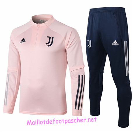 Maillotdefootpascher - Survetement de Enfant Juventus Rose 2020 2021