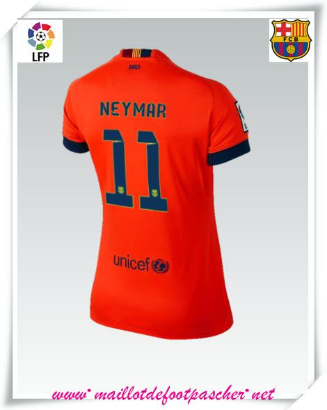 La liga nouveau maillot barcelone femme neymar 11 for Maillot exterieur barcelone 2014