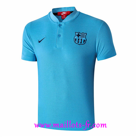 Polo Foot Barcelone Bleu 2019/2020