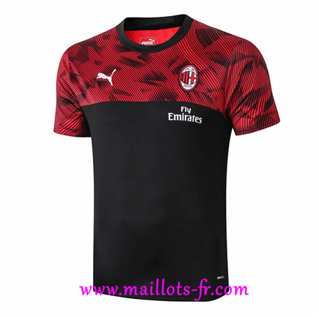 Pré Match Training AC Milan Noir/Rouge 2019/2020