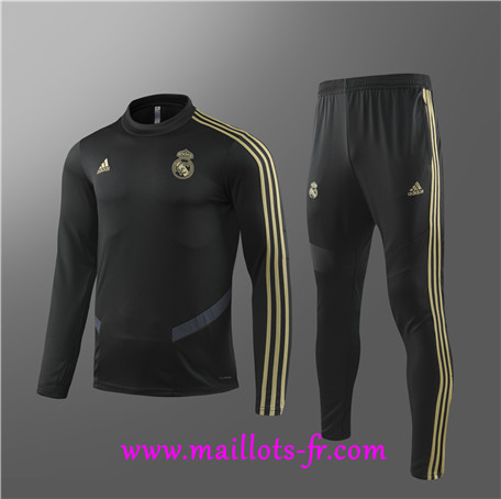 Survetement Real Madrid Enfant Noir 2019/2020