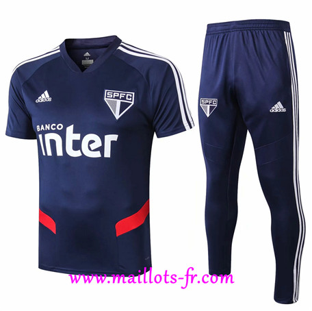 Ensemble Training Sao Paulo + Pantalon Bleu 2019/2020