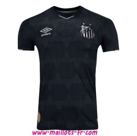 Maillot foot Santos Third Black 2019/2020