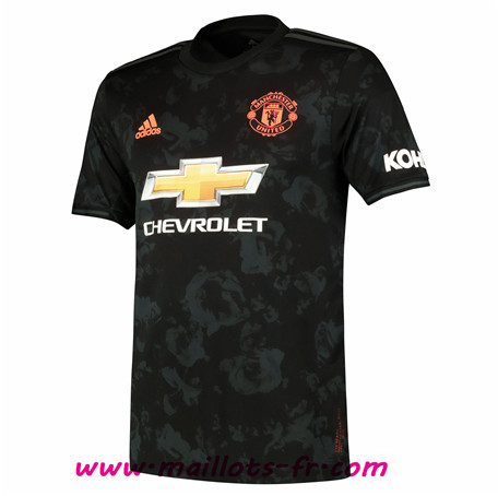 Maillot foot Manchester United Third Noir 2019/2020