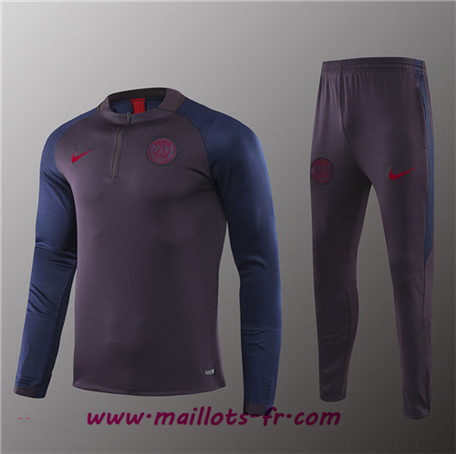 Survetement PSG Enfant kit Gris Strike Drill 2019/2020