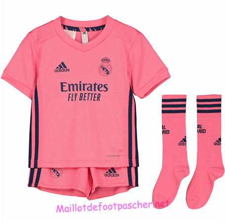 nouveau Ensemble Maillot Real Madrid Enfant Exterieur - Orange 2020/2021