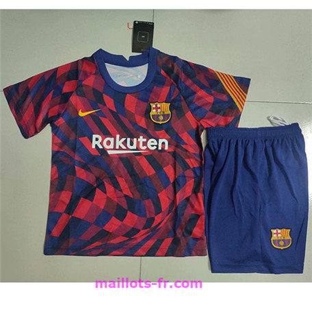 : Officiel Nouveau Maillot de foot Barcelone Enfant training rouge 2020 2021