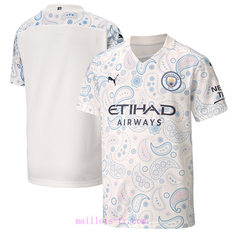 : Officiel Nouveau Maillot de foot Manchester City Third 2020 2021 Homme