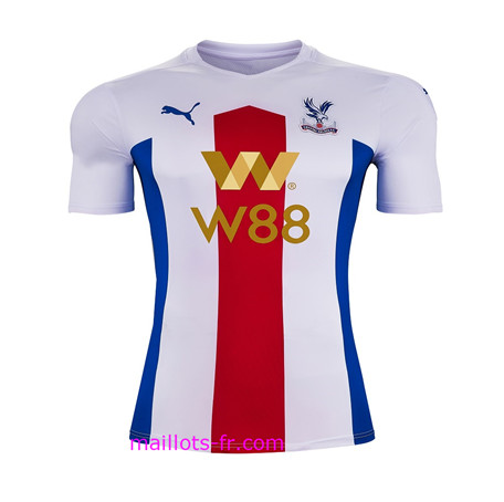 Premier League Nouveau Maillot foot Crystal Palace Exterieur 2020 2021