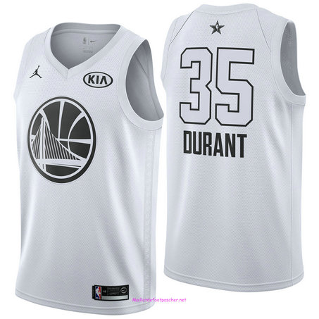 Kevin Durant - 2018 All-Star Blanc