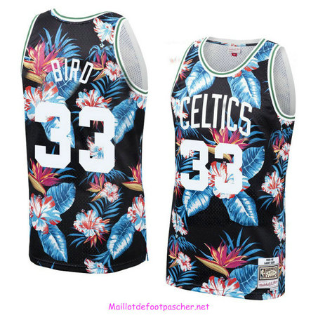 Larry Bird, Boston Celtics - Mitchell & Ness Floral Pack