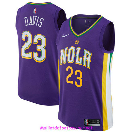 Anthony Davis, New Orleans Pelicans - City Edition