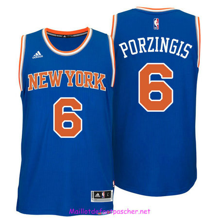 Kristaps Porzingis, New York Knicks [Azul]