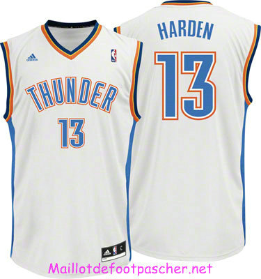 James Harden Oklahoma City Thunder [Blanca]