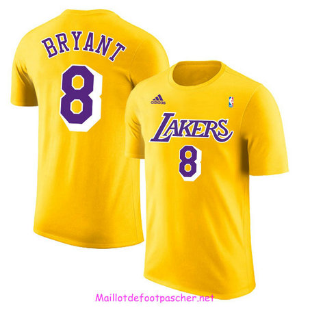 Maillot Los Angeles Lakers - Or